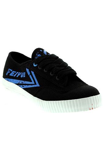 feiyue chaussures enfant de couleur noir