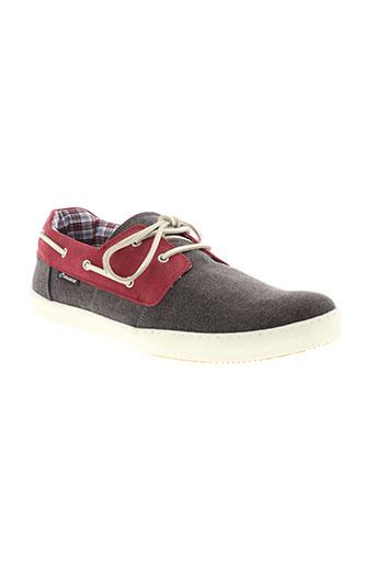 mascaret chaussures homme de couleur gris