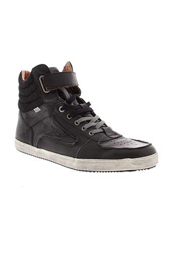 pepe jeans chaussures homme de couleur noir
