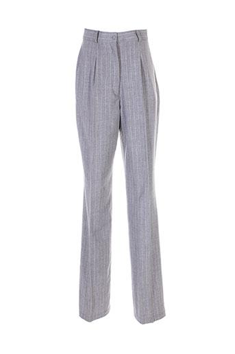 angel nina pantalons femme de couleur gris