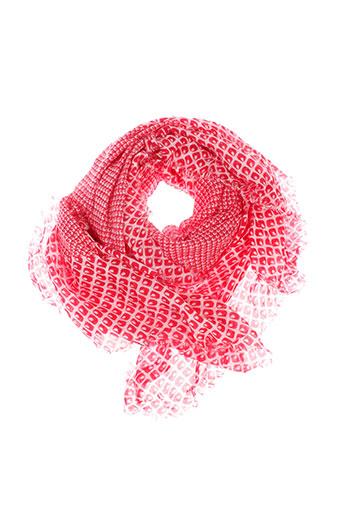 caroll foulards femme de couleur rouge