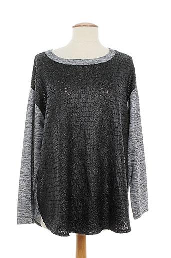 daneva tuniques femme de couleur gris