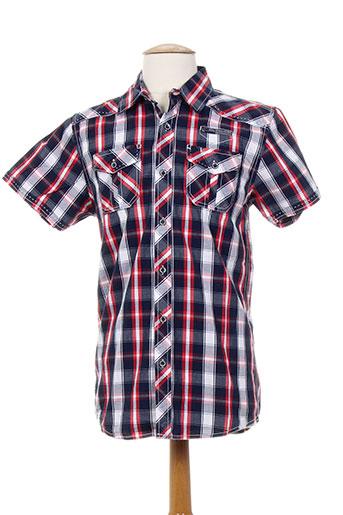 mzgz chemises homme de couleur rouge