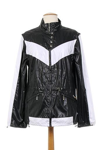nuni manteaux femme de couleur noir