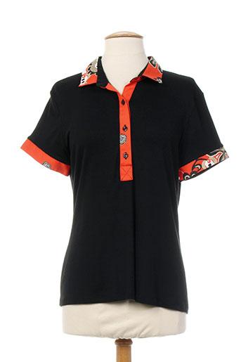 nuni t-shirts femme de couleur noir