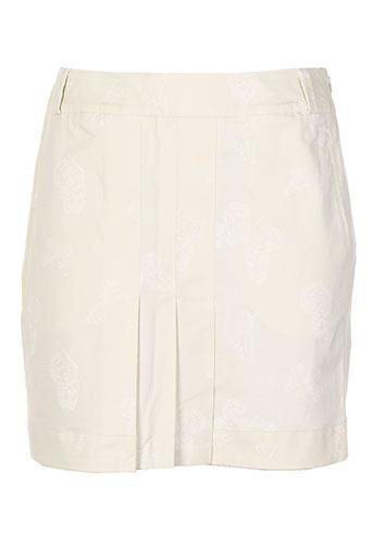 nuni jupes femme de couleur beige