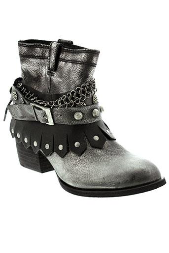 republyka boots femme de couleur noir