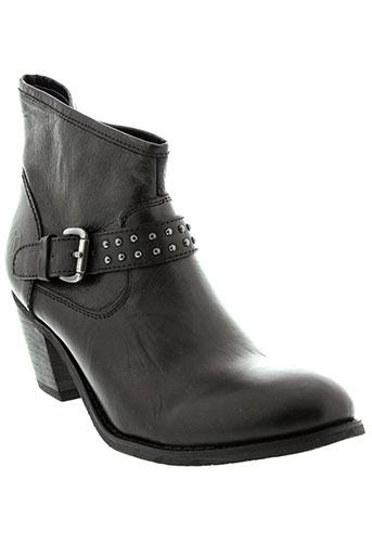 kdopa boots femme de couleur noir