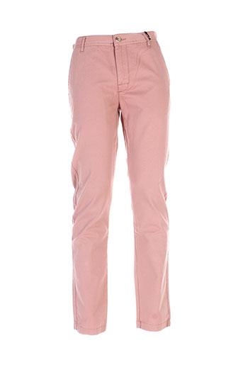 gold lab pantalons homme de couleur rose