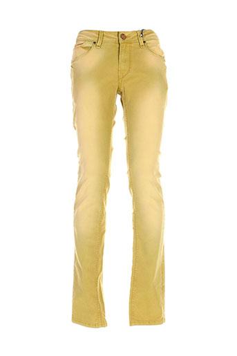 gaudi pantalons et decontractes homme de couleur jaune