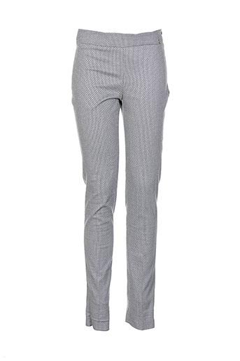 kocca pantalons femme de couleur gris
