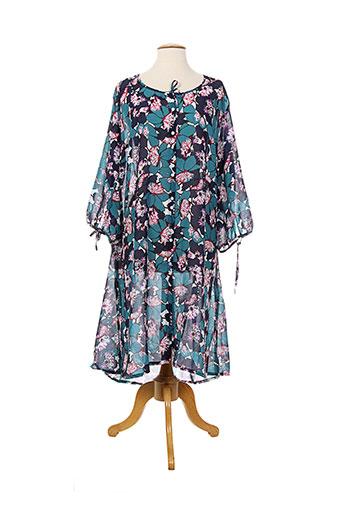 anita robes et de et chambre et peignoirs femme de couleur bleu (photo)