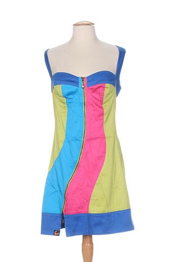 cheshire robes femme de couleur bleu