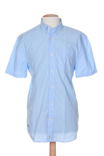 pepe jeans chemises homme de couleur bleu