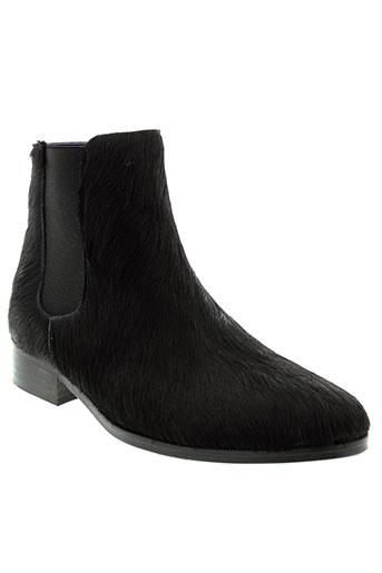 anaki boots femme de couleur noir