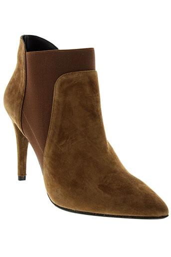 anaki boots femme de couleur marron