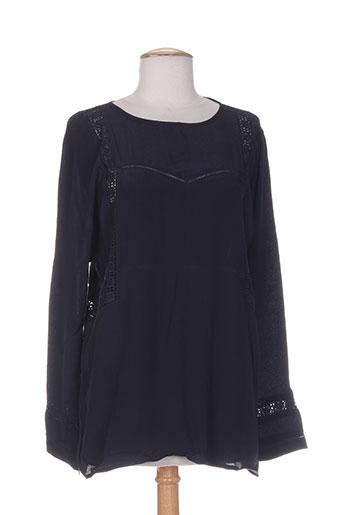 charlise chemises femme de couleur bleu