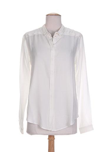 tinsels chemises femme de couleur blanc