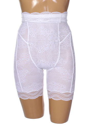 cotton et club shortys et boxers femme de couleur blanc