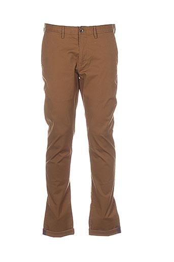 ben et sherman pantalons et decontractes homme de couleur marron
