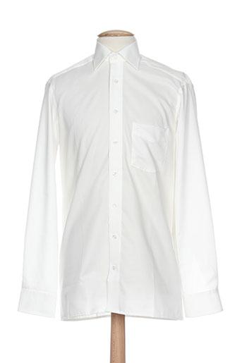 olymp chemises homme de couleur beige