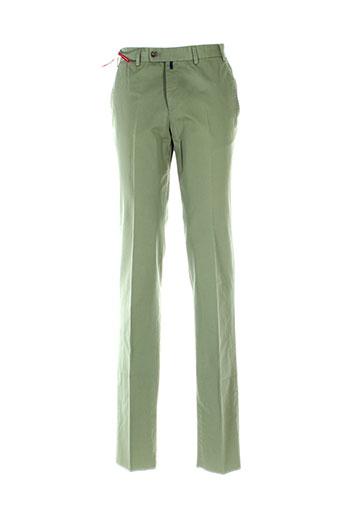 hiltl pantalons homme de couleur vert