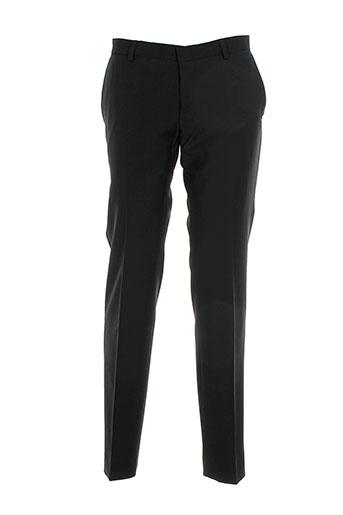 benvenuto pantalons femme de couleur noir