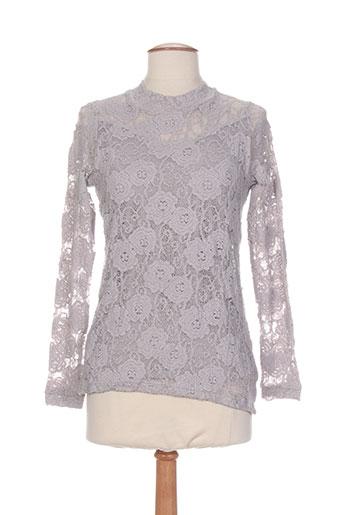 jean gabriel chemises femme de couleur gris