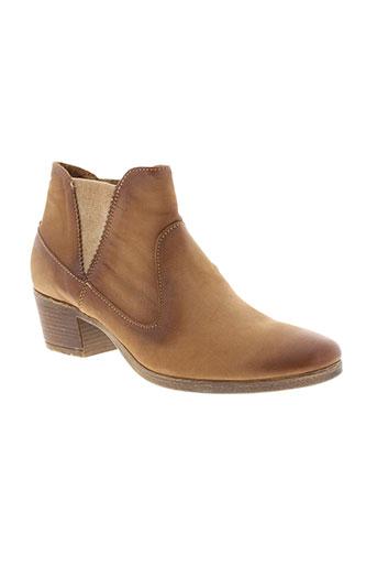reqins boots femme de couleur beige
