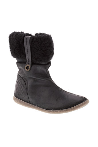 buggy boots fille de couleur gris