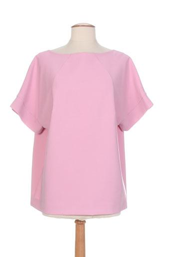 piu piu chemises femme de couleur rose