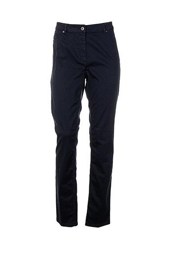 airfield pantalons femme de couleur bleu