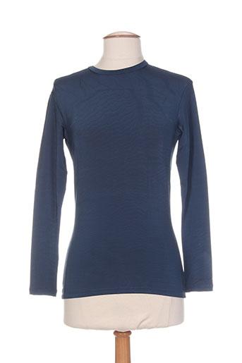 ernest le gamin t-shirts femme de couleur bleu