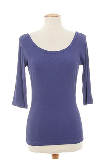 lola paradis t-shirts femme de couleur bleu