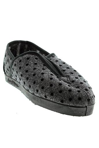 alain videau chaussures femme de couleur gris