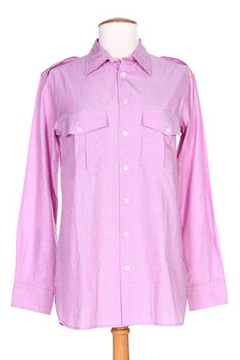laurence dolige chemises femme de couleur rose
