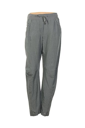 sandwich pantalons et decontractes femme de couleur gris