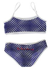 Maillot de bain 2 pièces bleu LITTLE MARCEL pour fille seconde vue