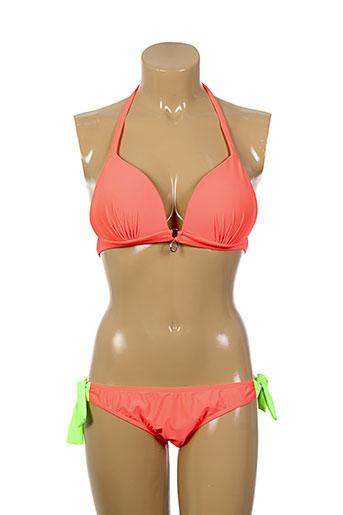 les p'tites bombes maillots de bain femme de couleur orange