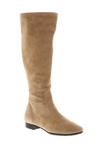 maloles bottes femme de couleur beige