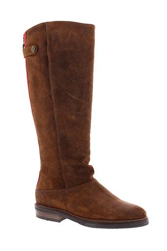 atelier et do et sapato bottes femme de couleur marron