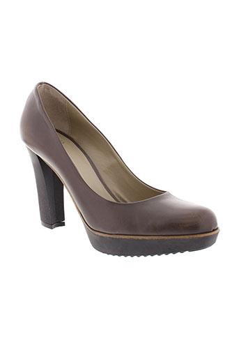 noemi liberti chaussures femme de couleur marron