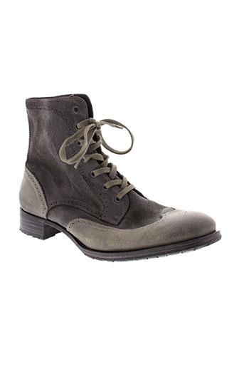 n et d et c boots femme de couleur gris