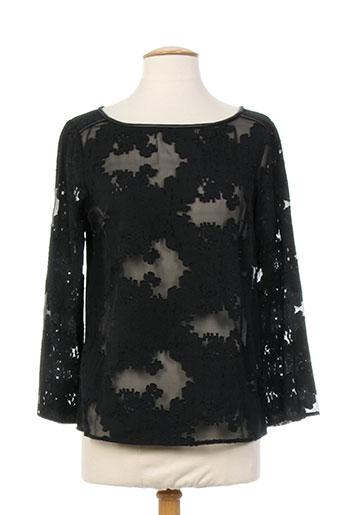 one step chemises femme de couleur noir