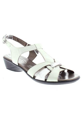 semelflex sandales et nu et pieds femme de couleur blanc