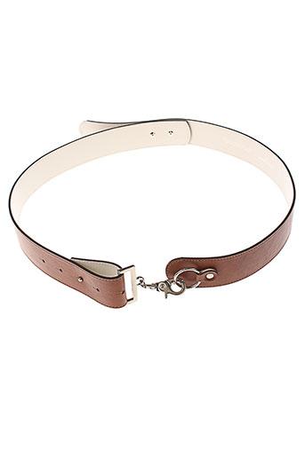 douglas ceintures femme de couleur marron