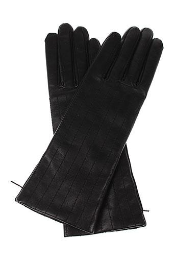 agnelle echarpes et gants femme de couleur noir