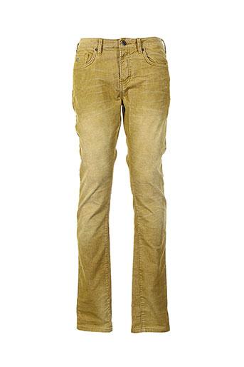 scotch et soda pantalons et decontractes homme de couleur jaune