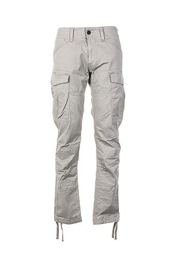 g et star pantalons et decontractes homme de couleur gris