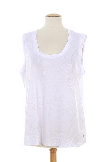 fille des sables t-shirts femme de couleur blanc